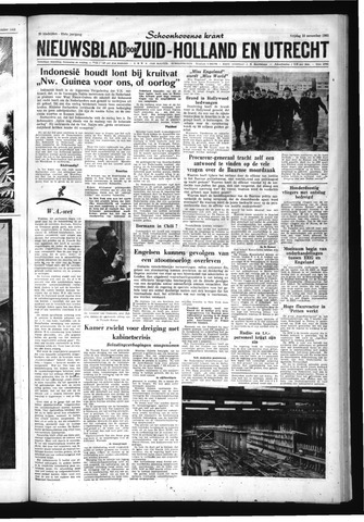 Schoonhovensche Courant 1961-11-10