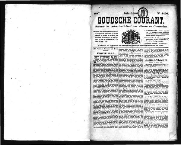 Goudsche Courant 1887