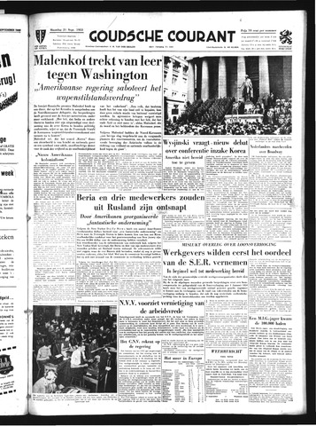 Goudsche Courant 1953-09-21
