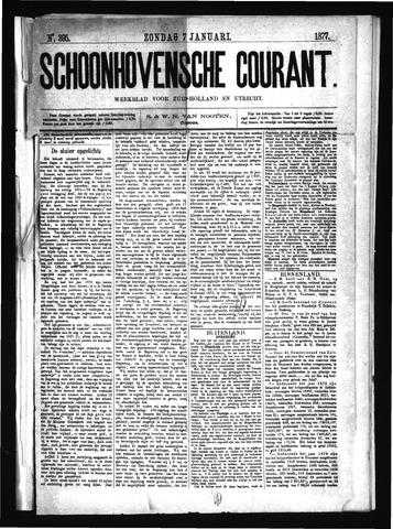 Schoonhovensche Courant 1877