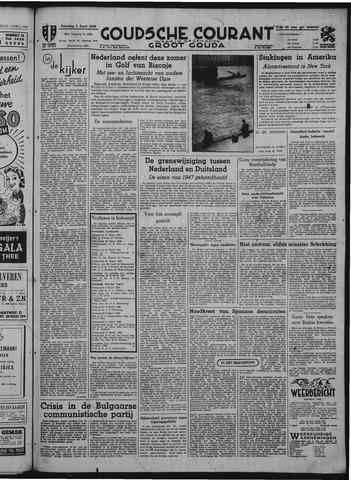 Goudsche Courant 1949-04-02