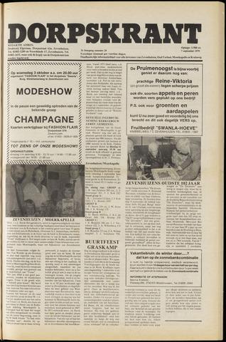 Dorpskrant 1979-09-07