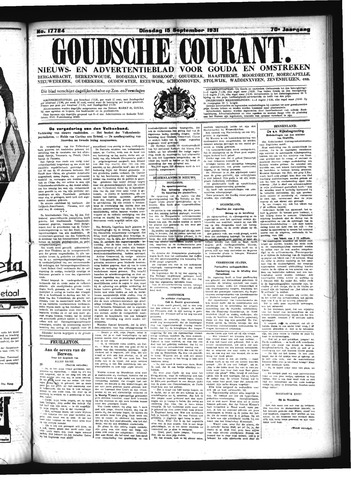 Goudsche Courant 1931-09-15