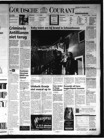 Goudsche Courant 2004-09-25