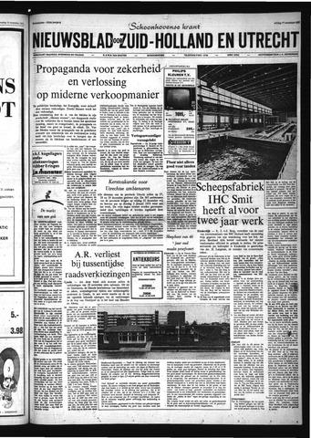 Schoonhovensche Courant 1972-11-17