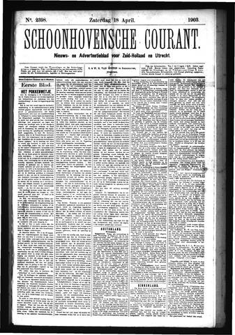 Schoonhovensche Courant 1903-04-18