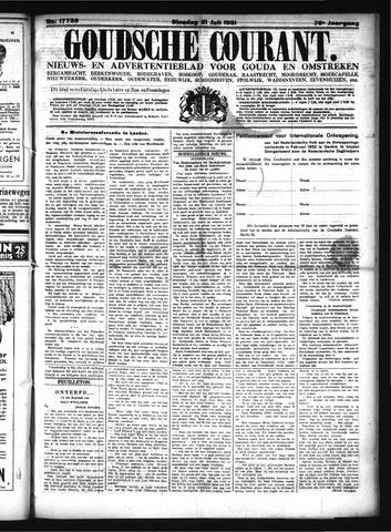 Goudsche Courant 1931-07-21