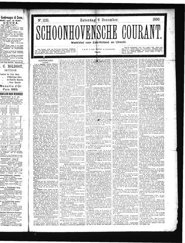 Schoonhovensche Courant 1890-12-06