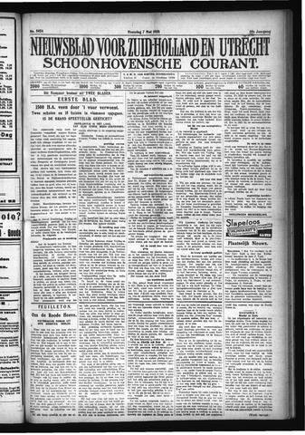 Schoonhovensche Courant 1928-05-07