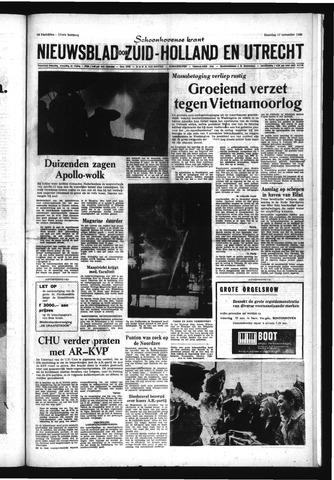Schoonhovensche Courant 1969-11-17