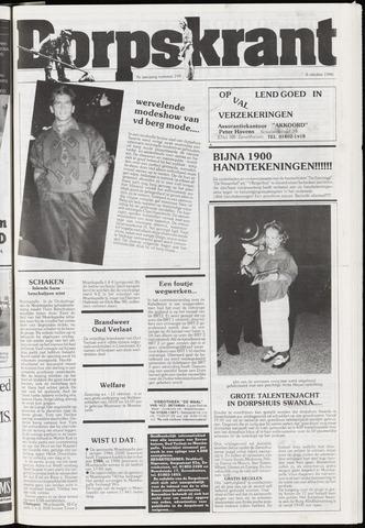 Dorpskrant 1986-10-08