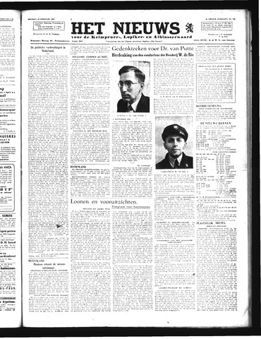 Schoonhovensche Courant 1946-02-22