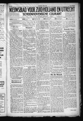Schoonhovensche Courant 1930-04-07