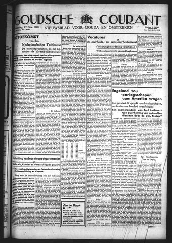 Goudsche Courant 1940-11-27