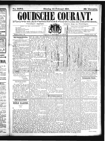Goudsche Courant 1911-02-14