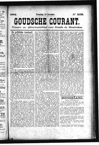 Goudsche Courant 1884-11-19