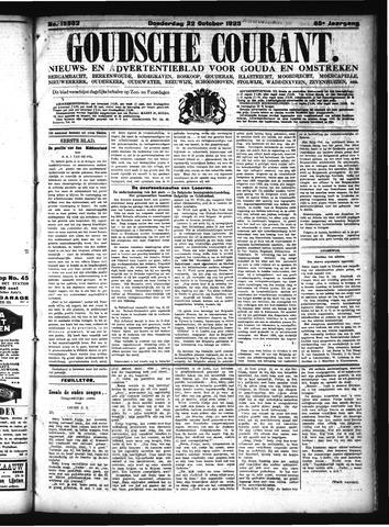 Goudsche Courant 1925-10-22