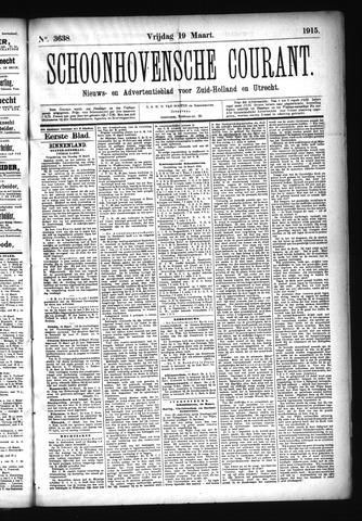 Schoonhovensche Courant 1915-03-19