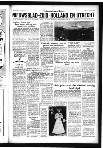 Schoonhovensche Courant 1959-08-21
