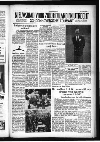 Schoonhovensche Courant 1955-06-29