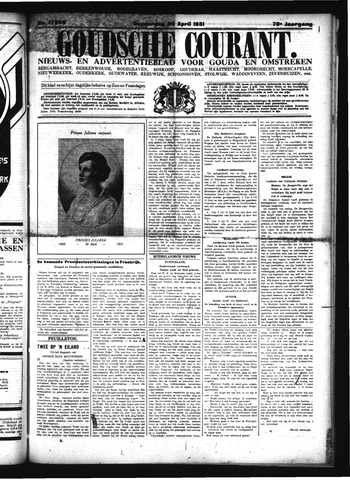 Goudsche Courant 1931-04-30