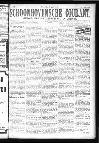 Schoonhovensche Courant 1924-04-09