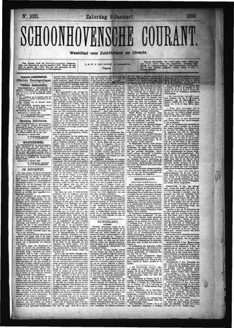 Schoonhovensche Courant 1889-01-05