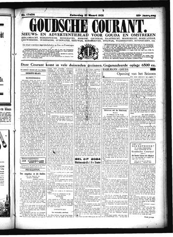 Goudsche Courant 1931-03-21
