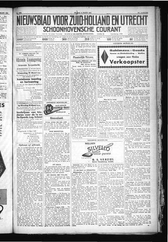 Schoonhovensche Courant 1930-03-14