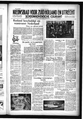 Schoonhovensche Courant 1954-03-22