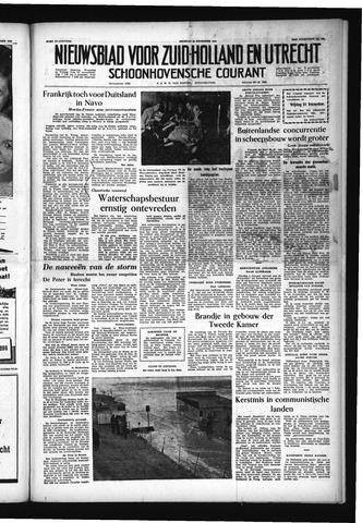 Schoonhovensche Courant 1954-12-28