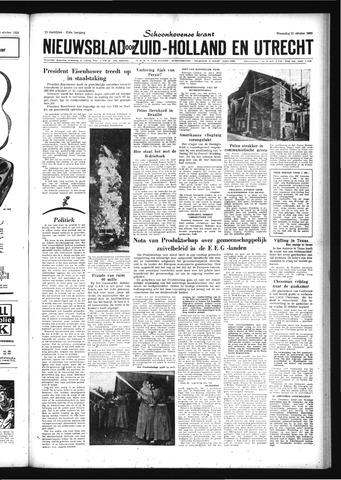 Schoonhovensche Courant 1959-10-21
