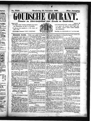Goudsche Courant 1898-11-24