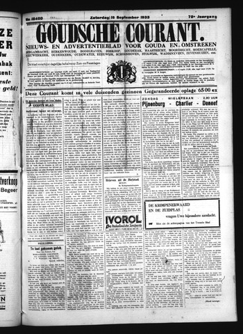 Goudsche Courant 1933-09-16