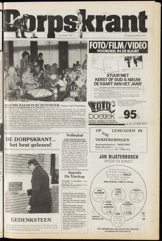 Dorpskrant 1987-11-04