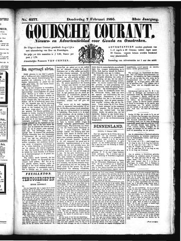 Goudsche Courant 1895-02-07