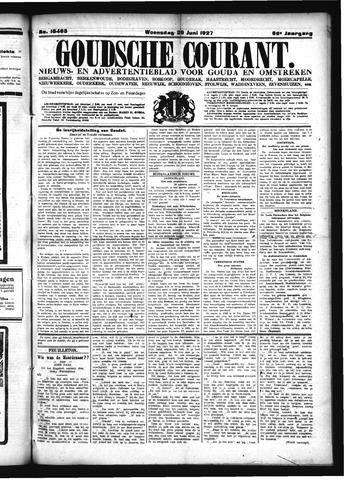 Goudsche Courant 1927-06-29
