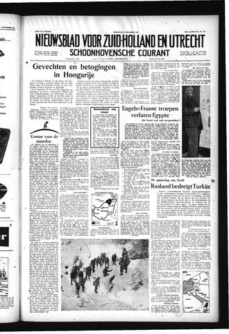 Schoonhovensche Courant 1956-12-05
