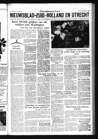 Schoonhovensche Courant 1963-08-28