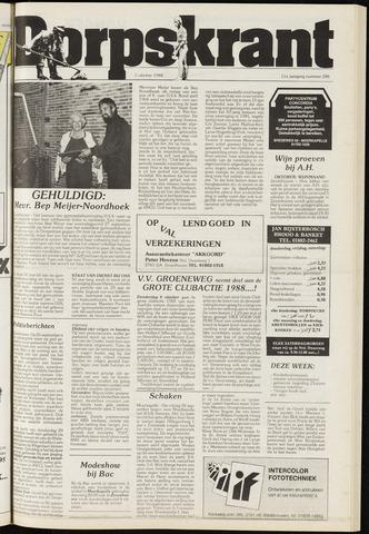 Dorpskrant 1988-10-05
