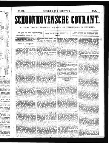 Schoonhovensche Courant 1874-08-16