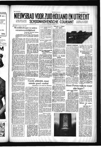 Schoonhovensche Courant 1955-06-20