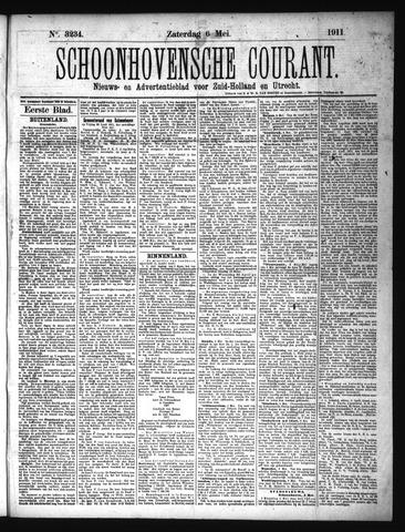 Schoonhovensche Courant 1911-05-06