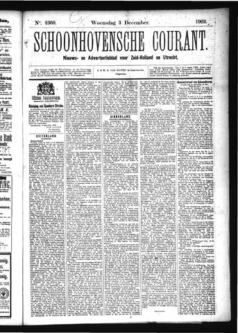 Schoonhovensche Courant 1902-12-03