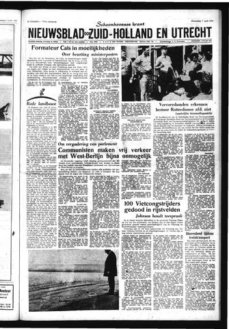 Schoonhovensche Courant 1965-04-07