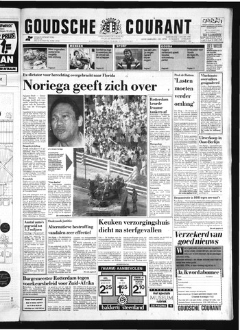 Goudsche Courant 1990-01-04