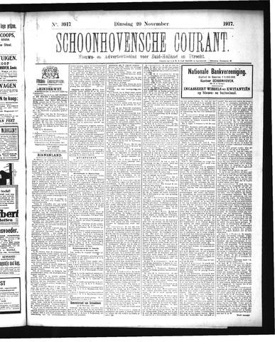 Schoonhovensche Courant 1917-11-20