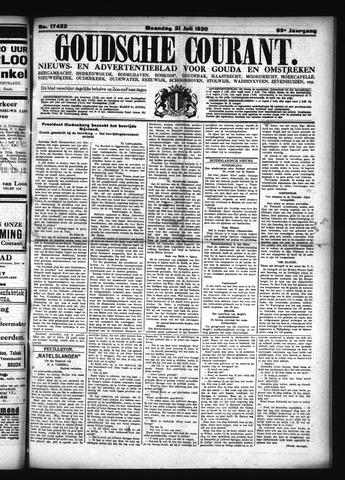 Goudsche Courant 1930-07-21