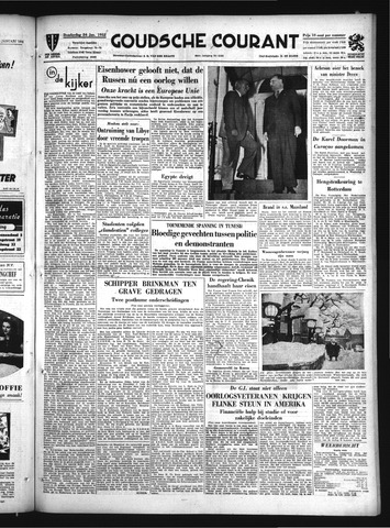 Goudsche Courant 1952-01-24