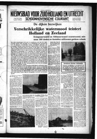 Schoonhovensche Courant 1953-02-02